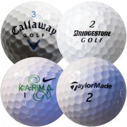 Mix značek (Callaway, Bridgestone, Nike, TaylorMade) 100 ks