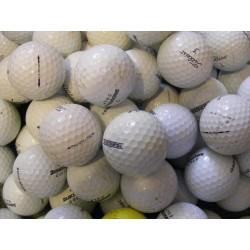 Trénink mix 4-plášťové golfové míče (Titleist Pro V1, Bridgestone B330) 50 + 10 ks ZDARMA - C, levné golfové míče