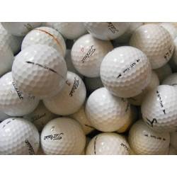Trénink mix, golfové míče Titleist Pro V1 a Titleist NXT Tour, 50 +10 kusů ZDARMA - C, levné golfové míče