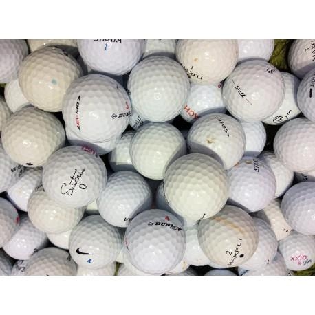Čtyřvrstvé golfové míče balata 50 ks levné golfové míče