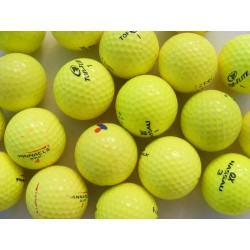 Žluté golfové míče, trénink mix (50 + 10 ks ZDARMA) - C