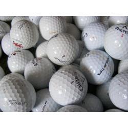 Trénink mix 4-vrstvé golfové míče (Titleist Pro V1, Callaway HX Tour) 50 + 10 ks ZDARMA, levné golfové míče