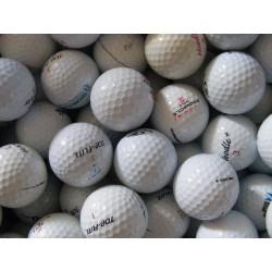 MIX golfových míčů 50 ks levné golfové míče