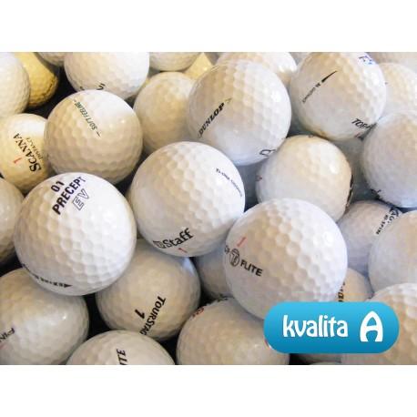 MIX golfových míčů 30 ks levné golfové míče