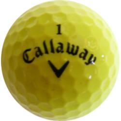 Žluté golfové míče 50 ks