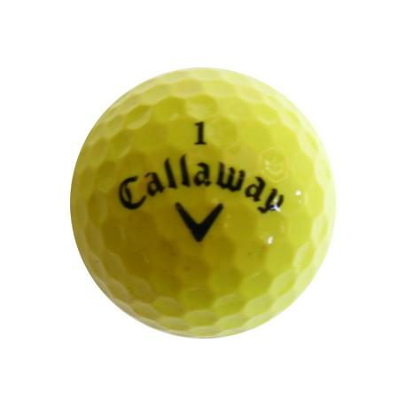 Žluté golfové míče 50 ks levné barevné golfové míče