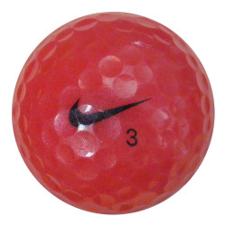 Růžové golfové míče 30 ks