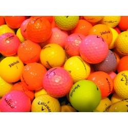 Barevné golfové míče 50 ks