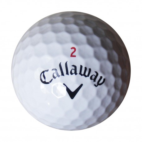 Callaway HEX Chrome 30 ks levné golfové míče Callaway