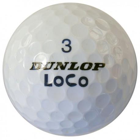 Dunlop golfové míče 50 ks levné golfové míče